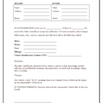 007 Vehicle Bill Of Sale Template Beautiful Ideas A Form Pertaining To Vehicle Bill Of Sale Template Word