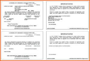 008 Auto Insurance Card Template Pdf Ideas Progressive in Auto Insurance Card Template Free Download