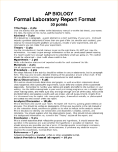 008 Biology Lab Report Template Example Outstanding Ideas for Biology Lab Report Template
