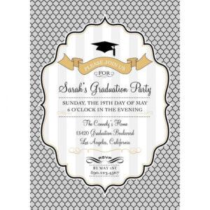 008 Free Graduation Party Invitation Templates Template regarding Graduation Party Invitation Templates Free Word