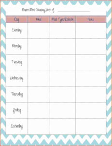 008 Menu Planning Template Word Plan Weekly Meal 7 inside Menu Planning Template Word