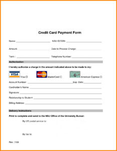 008 Order Form Template With Credit Card Information 9 inside Order Form With Credit Card Template