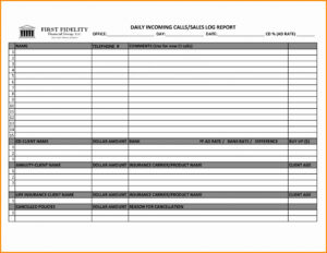 008 Sample Sales Call Reports Or Awesome Report Template For With Regard To Sales Visit Report Template Downloads
