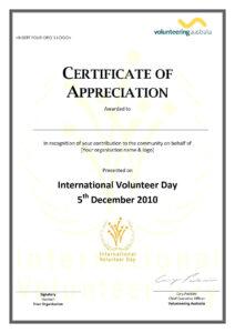 008 Template Ideas Community Service Certificate Long Award within Long Service Certificate Template Sample