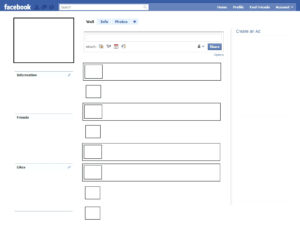 009 In Case Blank Facebook Page Template Ideas For Word pertaining to Html5 Blank Page Template