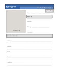 009 In Case Blank Facebook Page Template Ideas For Word with regard to Html5 Blank Page Template