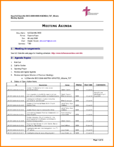 009 Meeting Agenda Template Word Ideas Agendad Doc Lease inside Agenda Template Word 2010