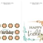 009 Printable Birthday Card Template Cards Free Intended For Intended For Template For Cards To Print Free