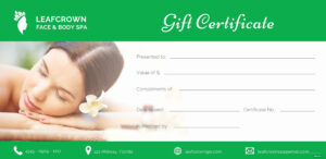 009 Spa Gift Certificates Templates Free Awesome Certificate throughout Spa Day Gift Certificate Template