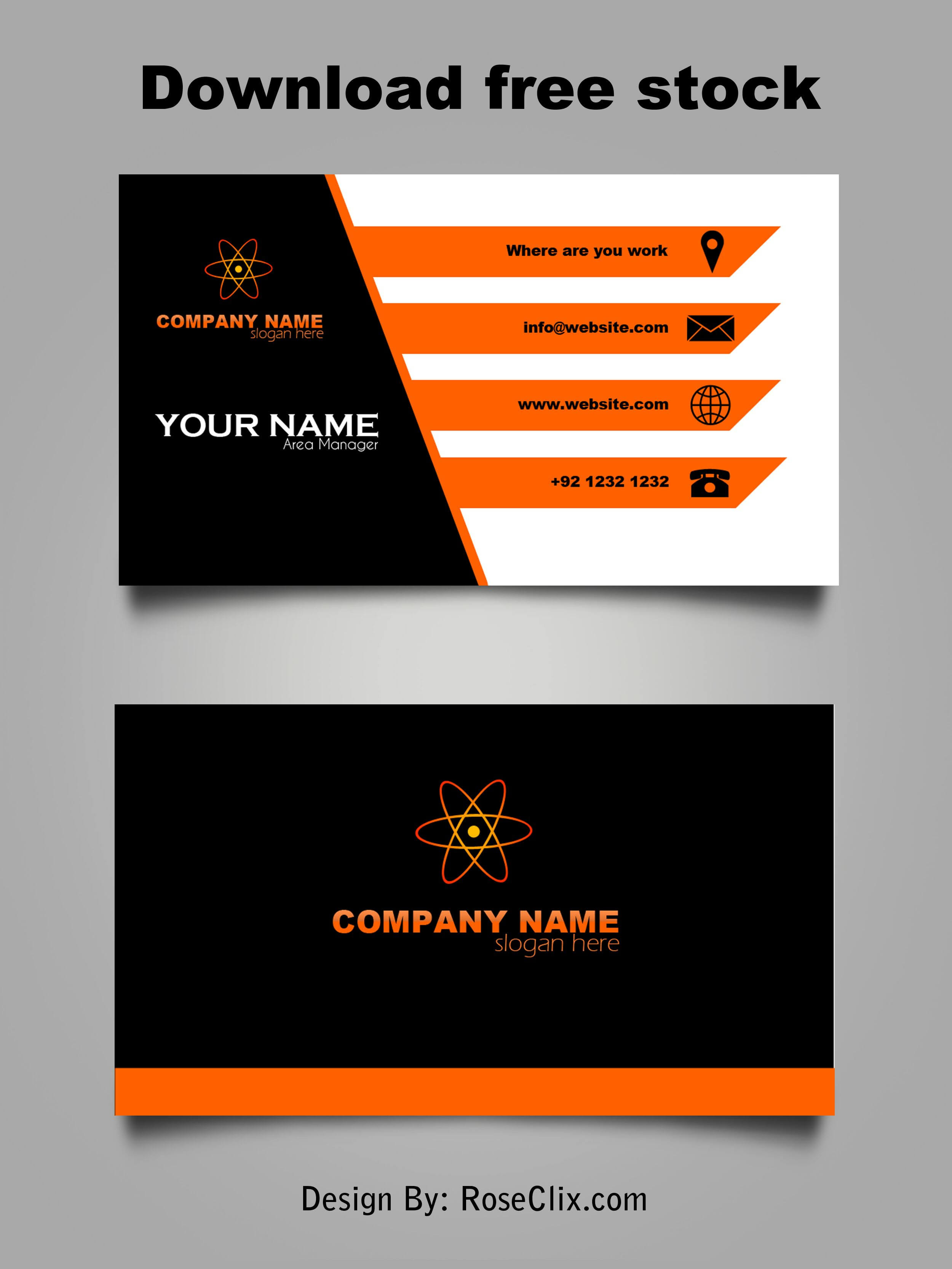 009 Template Ideas Free Download Business Cards Impressive In Microsoft Templates For Business Cards