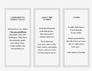 009 Travel Brochure Template For Students Printable Kids pertaining to Country Brochure Template