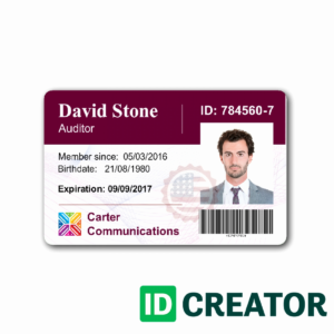 010 Employee Id Card Template Ideas Business Maker Beautiful regarding Work Id Card Template