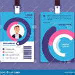 010 Employee Id Card Templates Corporate Professional Regarding Company Id Card Design Template