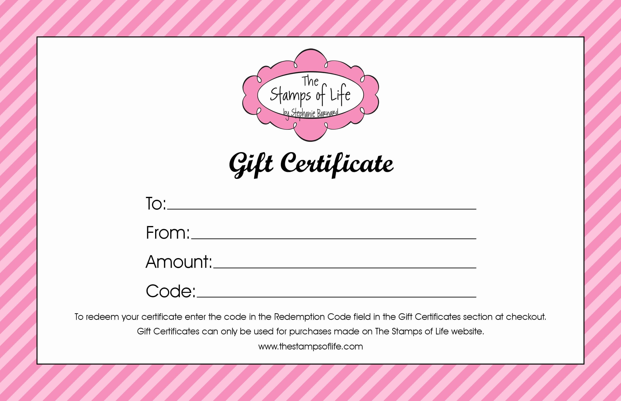 010 Free Gift Certificate Template Word Generic Certificates Regarding Generic Certificate Template