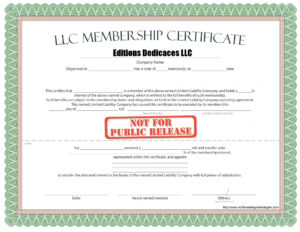 010 Llc Membership Certificate Template Best Solutions For inside New Member Certificate Template