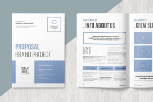 010 Template Ideas Microsoft Word Brochure Brand Singular in Office Word Brochure Template