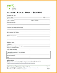 011 Accident Report Forms Template Ideas Daycare Child Care in Hazard Incident Report Form Template
