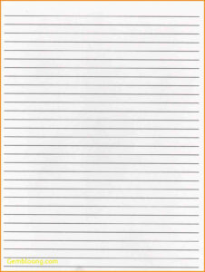 011 Lined Paper Template Image Elegant Word Best Templates for Notebook Paper Template For Word 2010