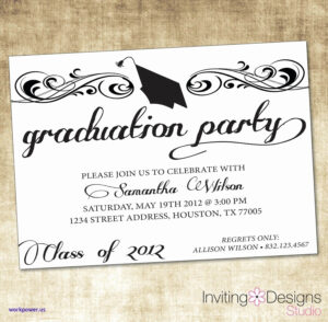 011 Party Invitations Template Word Ideas Graduation pertaining to Graduation Invitation Templates Microsoft Word