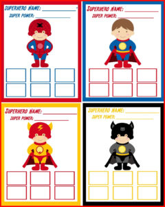 011 Superhero Birthday Invitations Templates Free Super Hero intended for Superhero Birthday Card Template