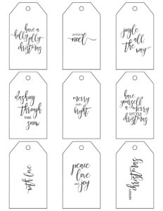 011 Template Ideas Free Gift Tag Templates Christmas throughout Free Gift Tag Templates For Word