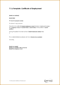 011 Template Ideas Request Letter Format For Certificate pertaining to Template Of Certificate Of Employment