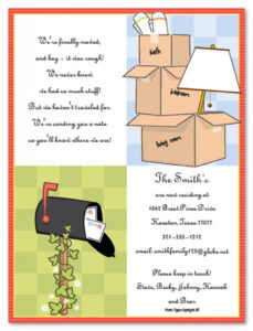 012 Free Housewarming Invitation Templates Printable Party with Moving House Cards Template Free