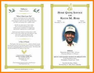 012 Free Printable Memorial Card Template New Obituary Word regarding Memorial Card Template Word