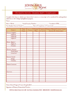 012 Homeschool Report Card Template Free Ideas For High intended for Homeschool Middle School Report Card Template