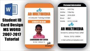 012 School Id Template Free Download Maxresdefault Fearsome with regard to College Id Card Template Psd