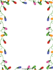 012 Template Ideas Free Christmas Border Templates Microsoft throughout Christmas Border Word Template