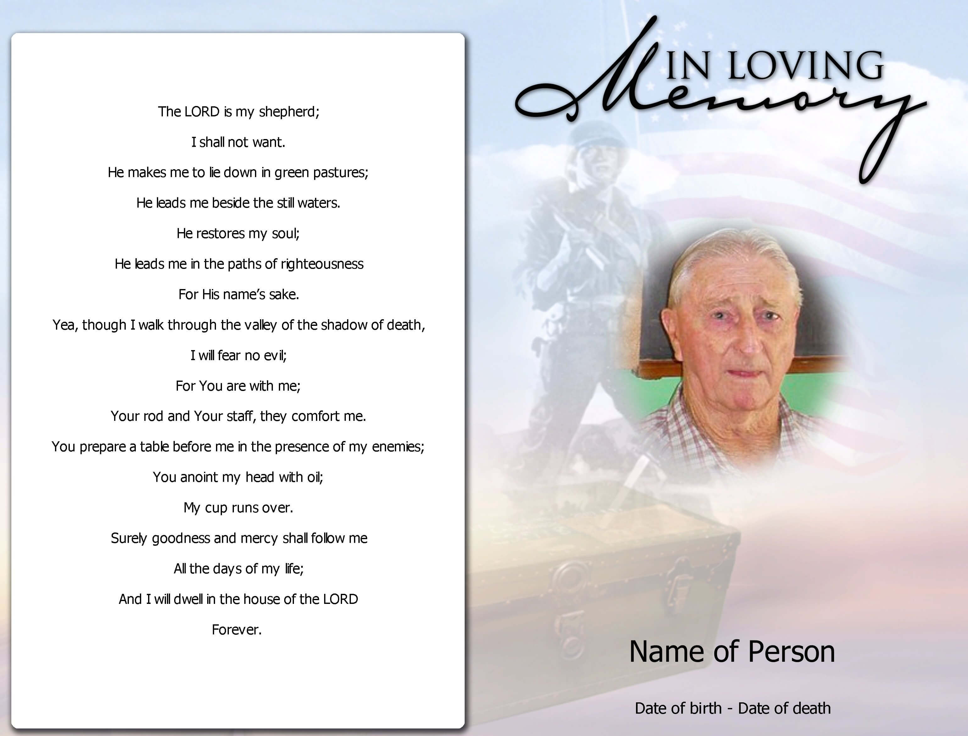012 Template Ideas Free Memorial Cards Blank Funeral Program For Memorial Cards For Funeral Template Free