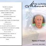 012 Template Ideas Free Memorial Cards Blank Funeral Program Pertaining To Remembrance Cards Template Free