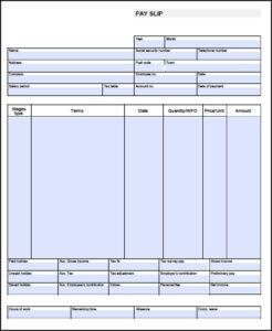 013 Blank Pay Stub Template Stubs Singular Ideas Excel Adp throughout Blank Pay Stub Template Word