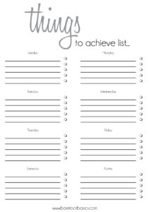013 Free Printable Blank Checklist Template Image To Do List within Blank Checklist Template Pdf