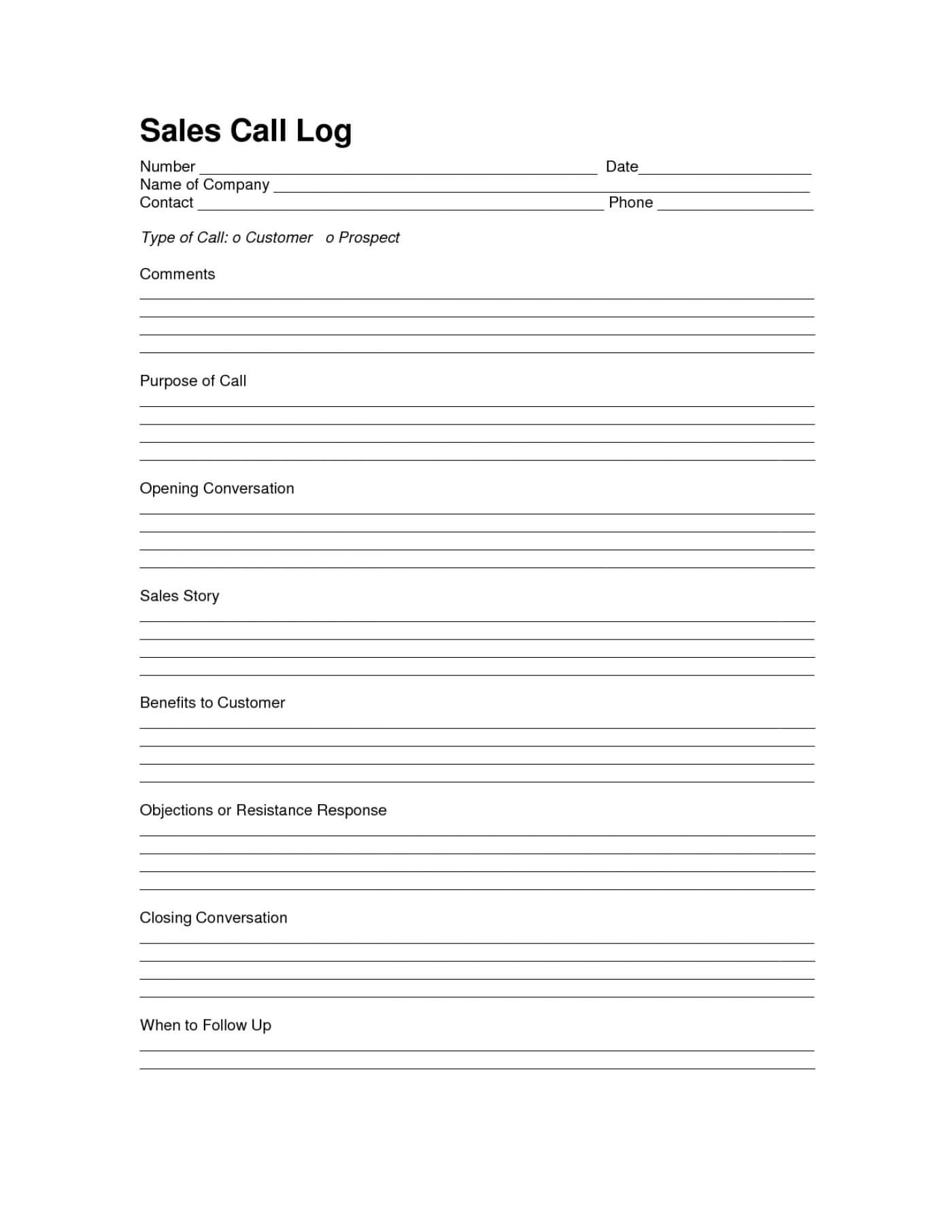 013 Sales Calls Report Template Ideas Call Wrap Up Cool In Wrap Up Report Template