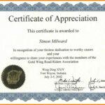 014 Certificate Of Appreciation Sample Wording Reference Within Army Certificate Of Appreciation Template