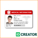 014 Free Id Card Templates Membership Template Church Psd Regarding Free Id Card Template Word