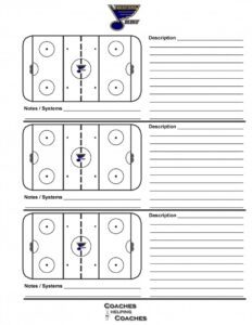 014 Plan Template Hockey Practice Rink Diagram Elegant With Blank Hockey Practice Plan Template