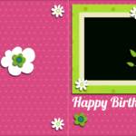 014 Template Ideas Birthday Card Unusual Free Pop Up For Photoshop Birthday Card Template Free