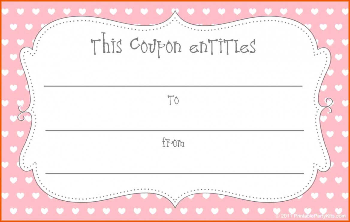 014 Template Ideas Blank Coupon Christmas Coupons Templates Throughout Blank Coupon Template Printable