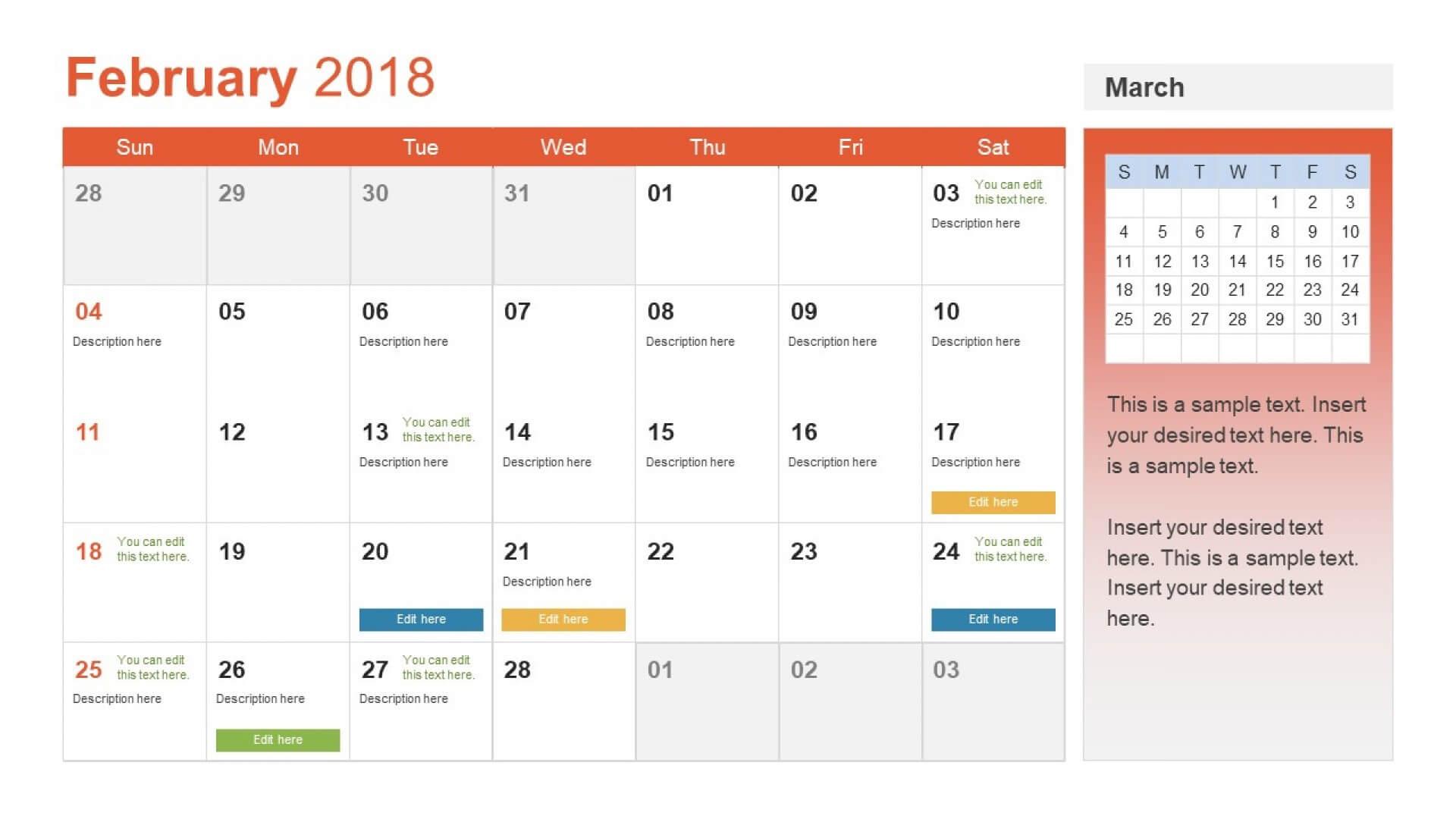 015 Calendar Powerpoint Template Templates Throughout Ideas For Microsoft Powerpoint Calendar Template