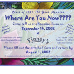 015 Family Reunion Invitations Templates Sample Invitation With Regard To Reunion Invitation Card Templates