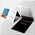 015 Folding Business Cards Template Ideasree Templates Regarding Fold Over Business Card Template