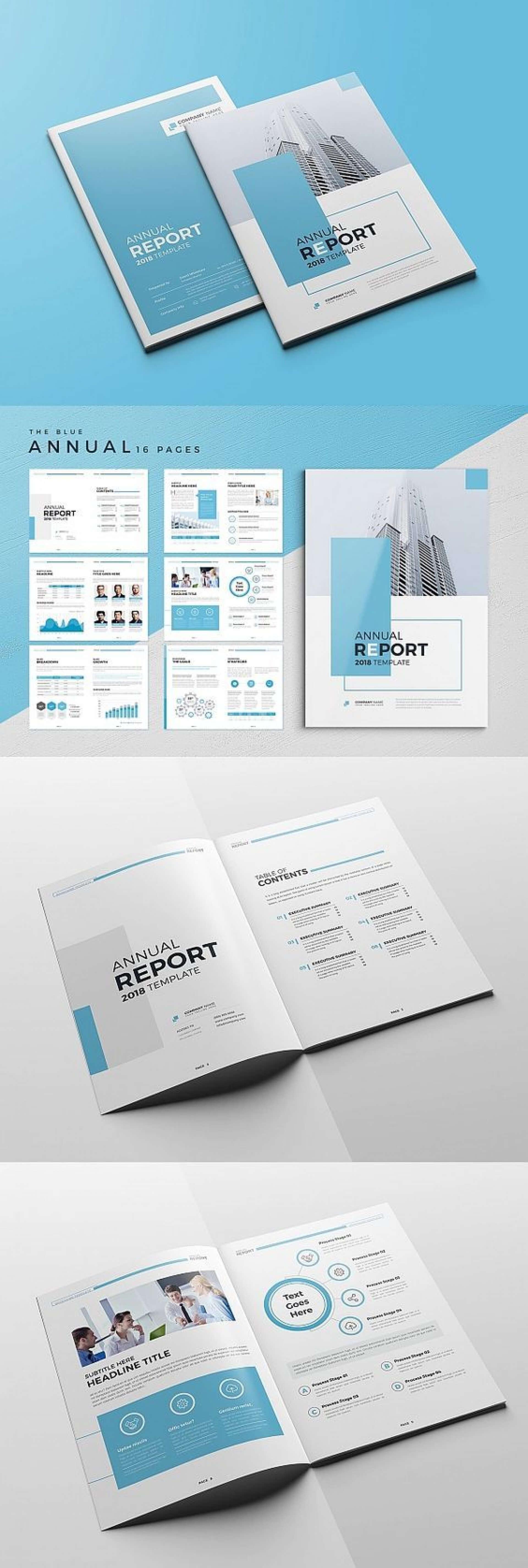 016 Annual Report Template Word Company Profile Brochure Pertaining To Annual Report Template Word