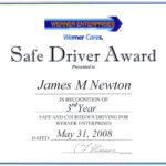 016 Award Certificate Template Word Fresh Microsoft Images Within Safe Driving Certificate Template