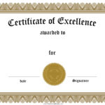 016 Helloalive Certificate Templates Free Printable Of with Free Certificate Of Excellence Template
