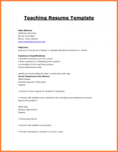 016 How To Make Resume For First Job Format Cv Template in How To Make A Cv Template On Microsoft Word