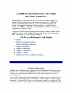 016 Market Research Report Template Ideas Marketing Sample intended for Research Project Report Template