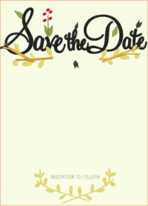 016 Save The Date Template Word Images With Unforgettable in Save The Date Template Word
